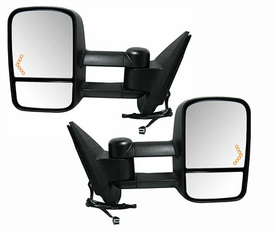 Chevy Tahoe Extendable Towing Mirrors At Monster Auto Parts. Extendable Mirrors With Turn Signal In Glass Pair. Chevrolet. 2002 Chevy Tahoe Mirror Parts Diagram At Scoala.co