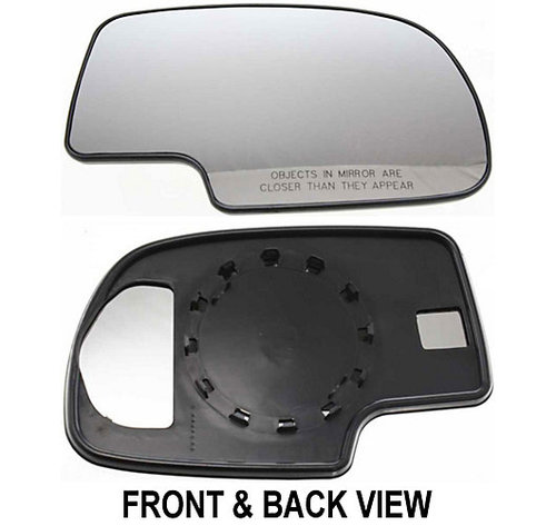 Chevy Tahoe Mirrors At Monster Auto Parts. Silverado Mirror Glass With Backer. Chevrolet. 2002 Chevy Tahoe Mirror Parts Diagram At Scoala.co