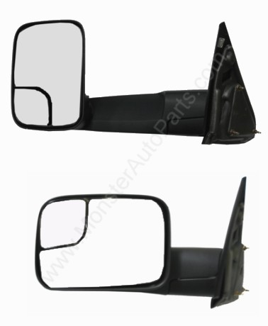 dodge ram side mirror replacement parts tractor repair dodge ram pickup truck towing mirror manual left