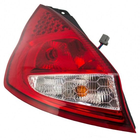 Tail Light Lens Assembly : Ford fiesta tail lights replacement light lens at
