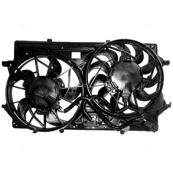 Ford Focus Radiator Cooling Fan Motor Assembly At Monster