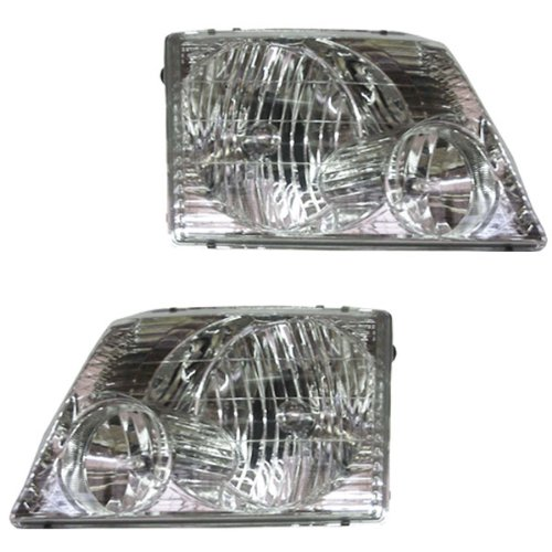 ford explorer replacement headlights at monster auto parts. Black Bedroom Furniture Sets. Home Design Ideas