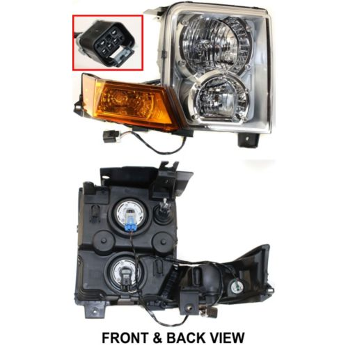 Direct Bolt On Lications Ch2519117 2221 0148r 2006 2010 Jeep Commander Headlight Embly