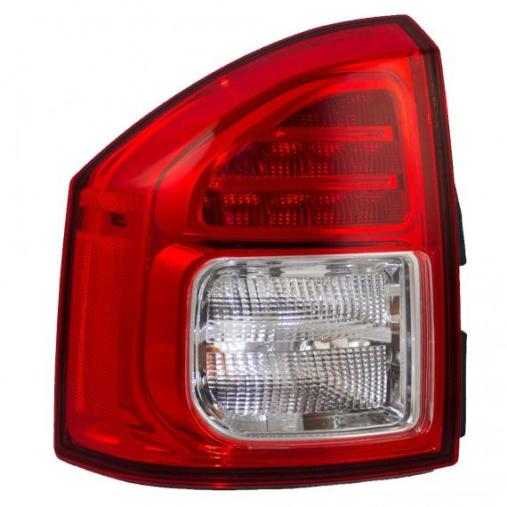 Jeep Tail Light Lenses : Jeep compass tail light lens at monster auto parts