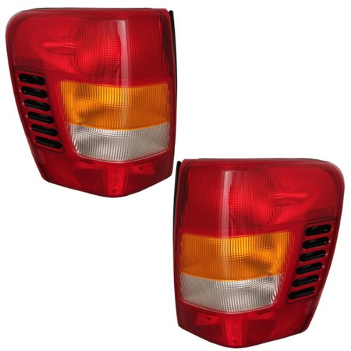 Jeep Tail Light Lenses : Jeep grand cherokee tail light lens at monster auto parts