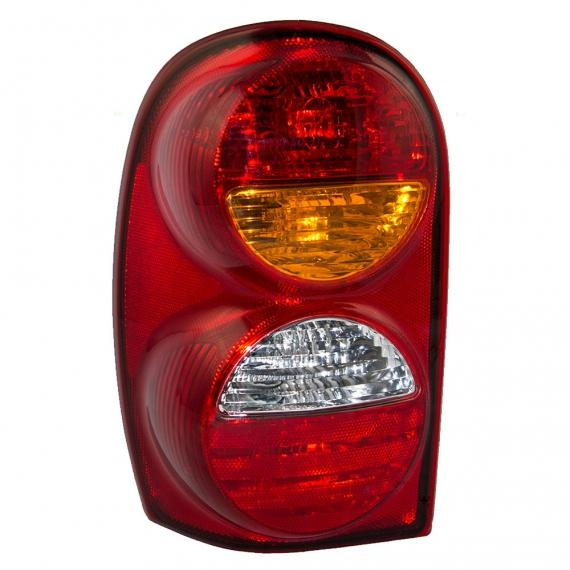 Jeep Tail Light Lenses : Jeep liberty tail light assembly at monster auto parts