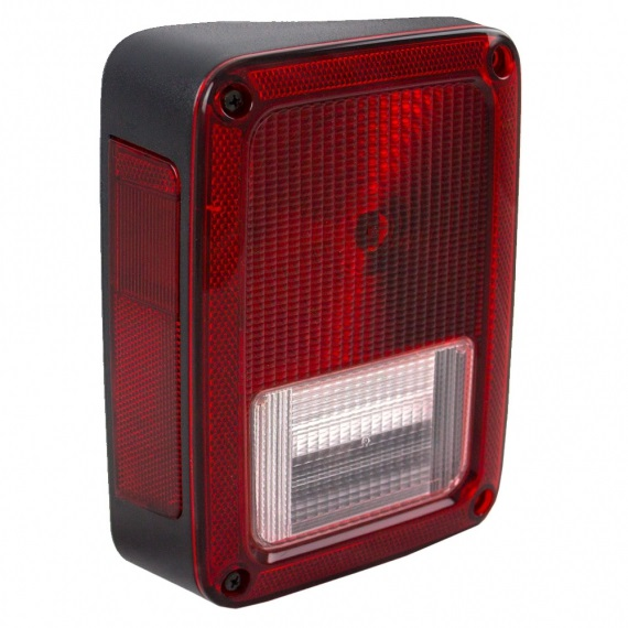 Jeep Tail Light Lenses : Jeep wrangler tail light assemblies at monster auto parts