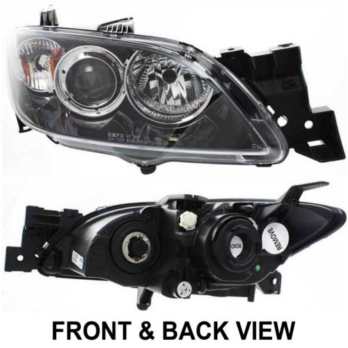 Mazda 3 Headlight Emblies Embly At Monster Auto Parts