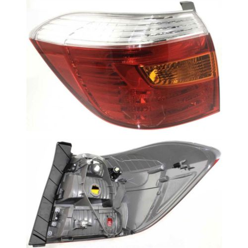 Toyota Highlander Tail Light At Monster Auto Parts. Rear Tail L Lens Cover Housing Front And Back View To2800173. Toyota. 2001 Toyota Highlander Tail Light Wiring At Scoala.co