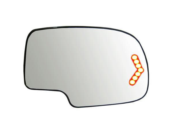Chevy Tahoe Mirrors At Monster Auto Parts. Tahoe Mirror Glass Housing Not Included Signal Arrow Exaggerated For. Chevrolet. 2002 Chevy Tahoe Mirror Parts Diagram At Scoala.co